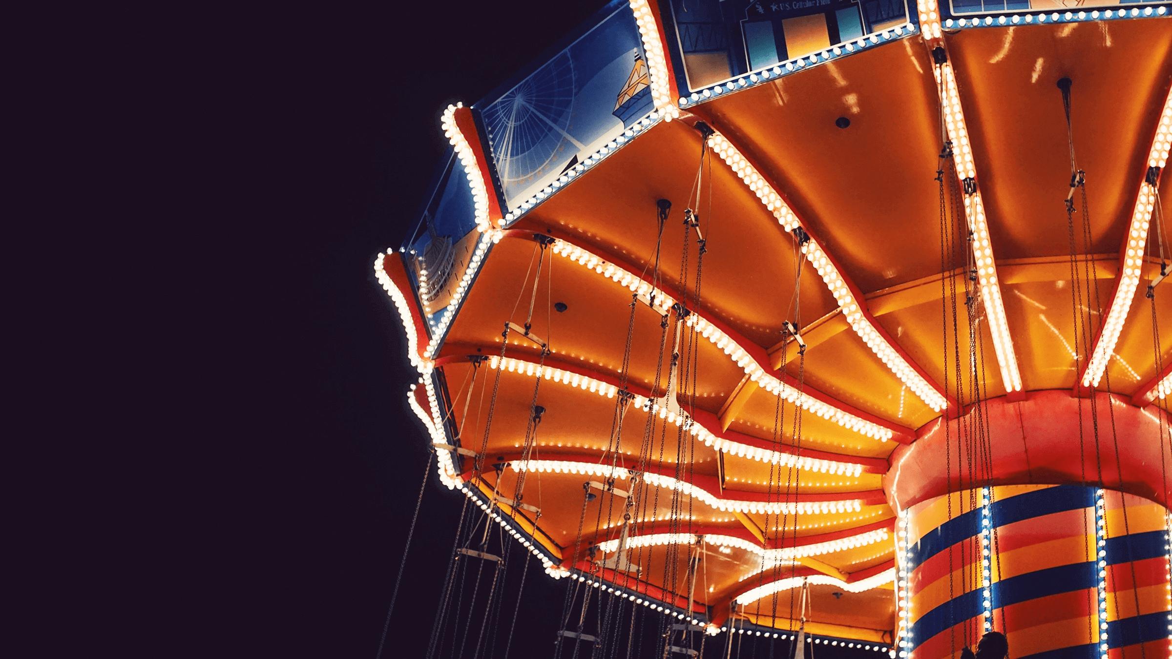 A carousel.
