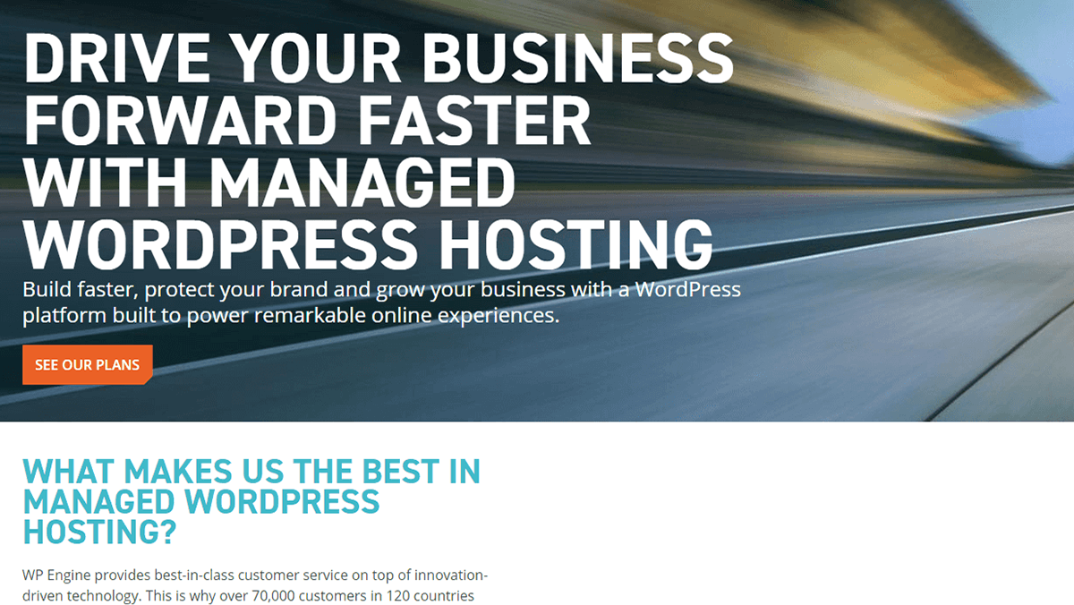 Managed WordPress hosting services from WPExplorer.
