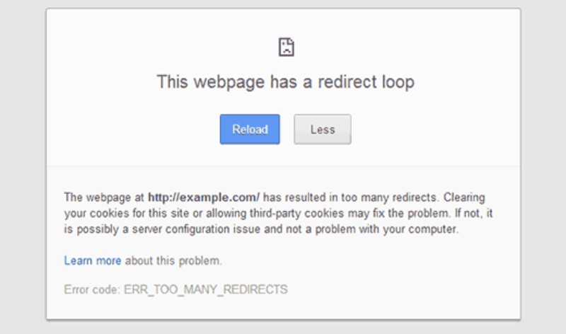 The too many redirects issue: How to fix it - Undsgn™