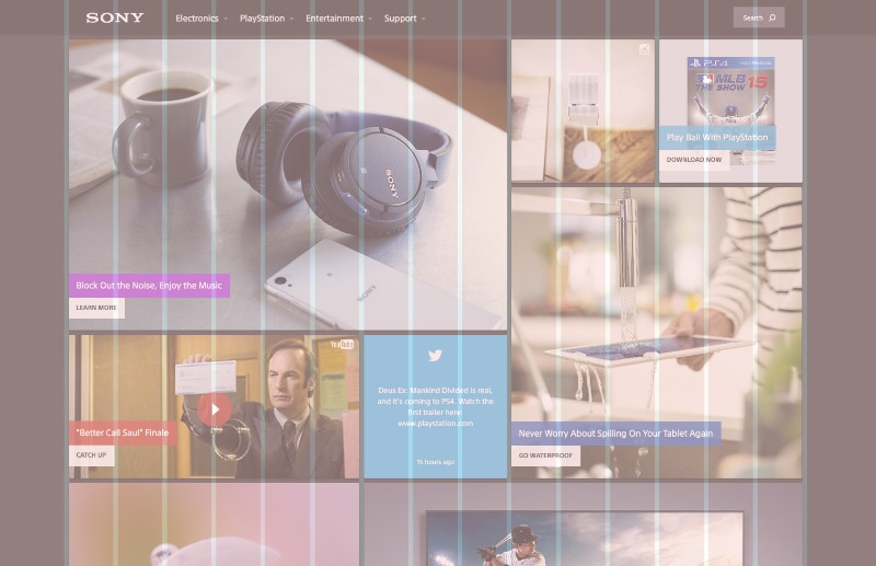 Improve Your Websites With A Grid Design Layout Undsgn